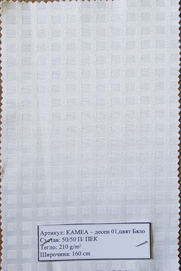 Камеа-01-бяло
